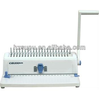 آلة تجليد مشط صغير للاستخدام المكتبي