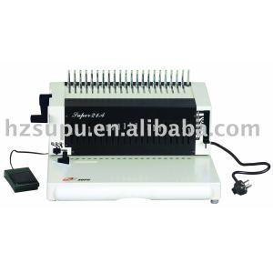 Electric comb binding machine