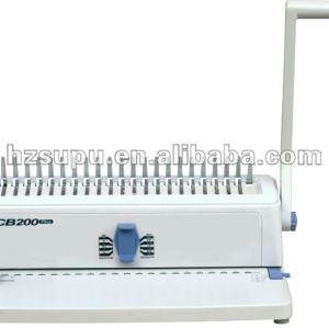 de escritorio vinculante máquina perfecta cb200 plus