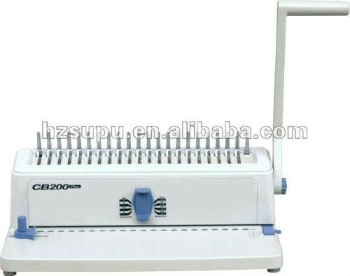 سطح المكتب آلة تجليد الكمال cb200 زائد