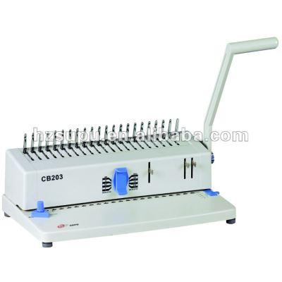 Comb binding machine CB203