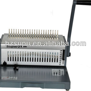 plastic comb binding ring binder machine