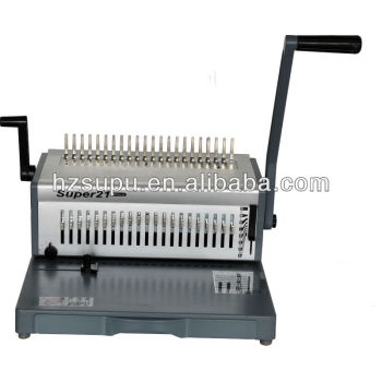 pente de plástico vinculativo ring binder máquina