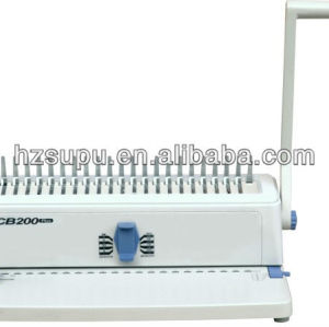 office comb binding &punch machine