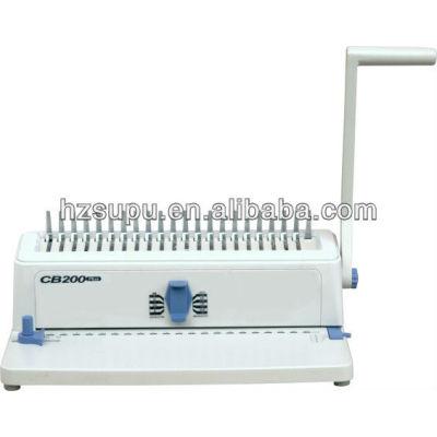 Oficina de peine vinculante& la máquina perforadora