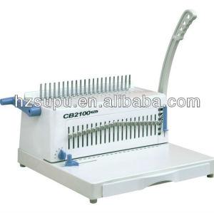 cambiante de alfileres peine de plástico vinculante máquina