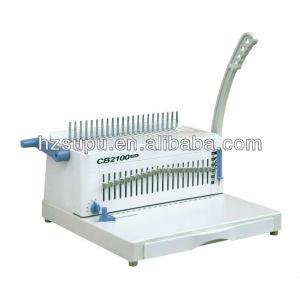 pins changable plastic comb binding machine