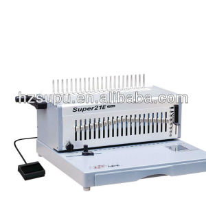 electric plastic comb binder