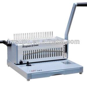 gabinete de alumínio pente vinculativo máquina