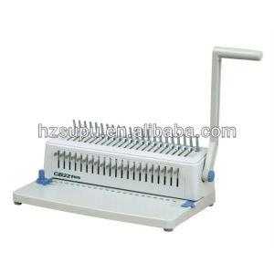 plastic muanal Comb binding &punching machine