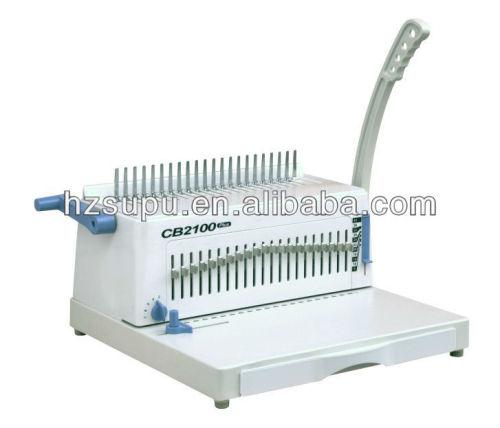 دليل البلاستيك آلة تجليد comb