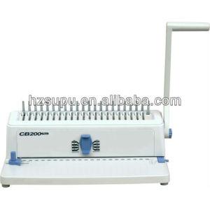 Printing finishing equipment(comb binding machine)