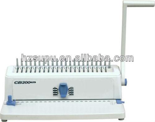 معدات الطباعة التشطيب( المشط آلة تجليد)