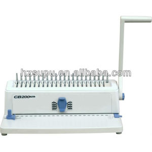 Manual book making equipment