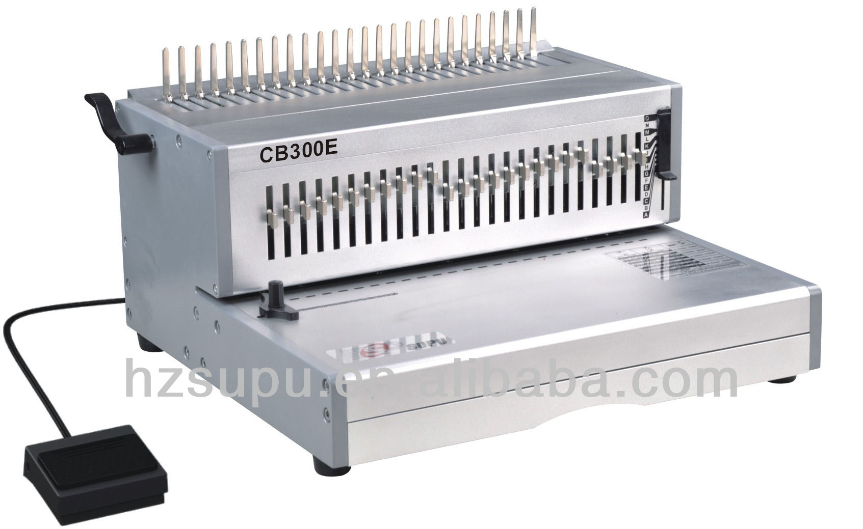 Plastic Comb Binder Strip Machine | SUPU Binding Machine