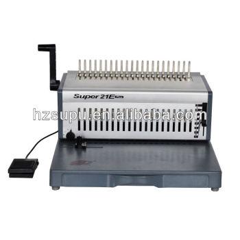 تصميم جديد واجب ثقيل آلة كهربائية تجليد مشط