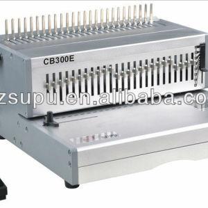 Elétrica encadernação& máquina de perfuração