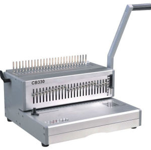 manual punching & comb binding machine