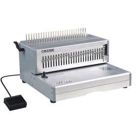 Perfuração elétrica& pente vinculativo máquina