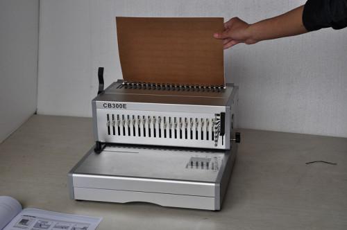 ثقب cb300e 21 المشط آلة تجليد