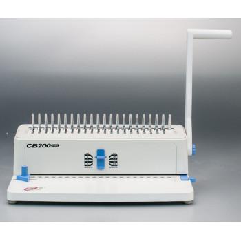 desktop supu pente vinculativo máquina cb200 plus para escritório fábrica anfd