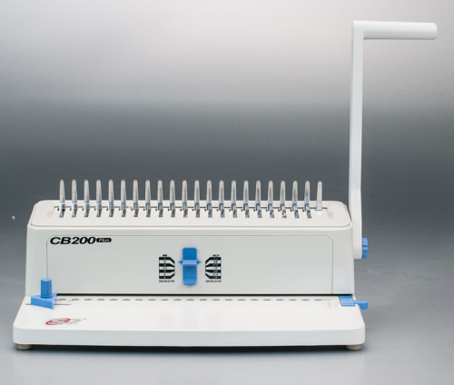 سطح المكتب آلة تجليد مشط supu cb200 زائد anfd مصنع للمكتب