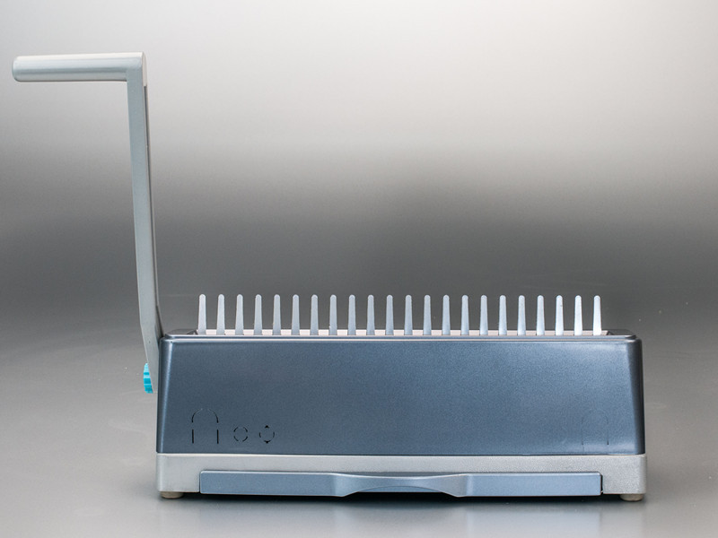 supu manual desktop plástico pente vinculativo máquina