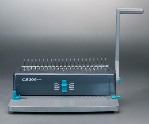 سطح المكتب دليل supu البلاستيك آلة تجليد comb