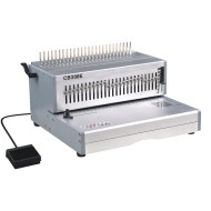 أسلاك مزدوجة آلة تجليد مشط cb300e الكهربائية