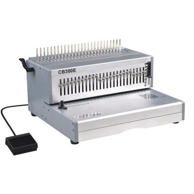 alambre doble peine vinculante de la máquina eléctrica cb300e