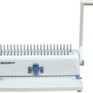 Double wire comb binding machine CB200plus
