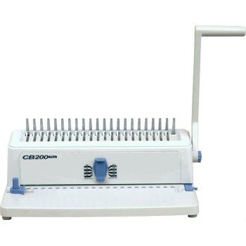 أسلاك مزدوجة آلة تجليد مشط cb200plus