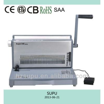 super34e plus de alambre de la máquina perforadora