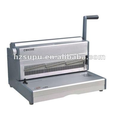 eléctrico de servicio pesado máquina obligatoria de alambre