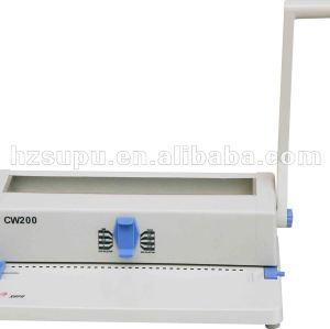 a4 máquina obligatoria de alambre cw200 plus