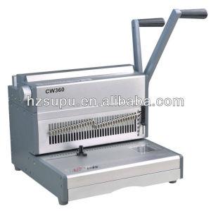 punzonado doble máquina obligatoria de alambre cw360