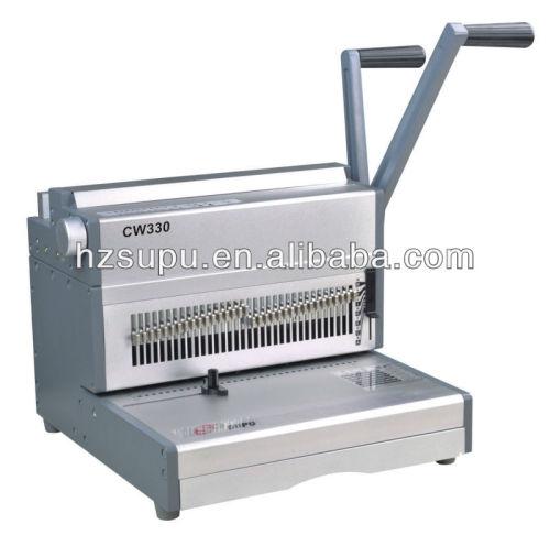 ملزم الأسلاك الفضية machinecw330