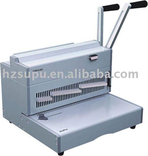 مزدوجة آلة تجليد أسلاك الفولاذ cw430