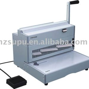 eléctrico alambre de hierro de la máquina de encuadernación cw430e