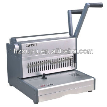 cw430t heavy duty wire binding machine