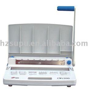 máquina obligatoria de alambre cw1200