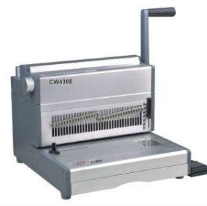 الصين سلك آلة تجليد cw430e 2:1 الملعب
