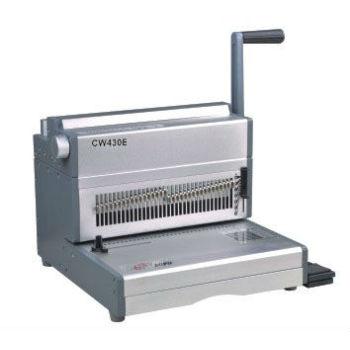 China fio vinculativo máquina cw430e 2:1 pitch