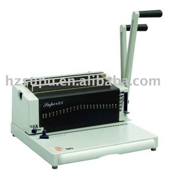 alambre de acero máquina de encuadernación super23