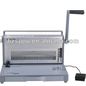eléctricos de aluminio de doble alambre máquina de encuadernación