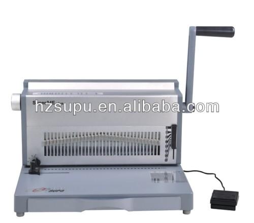 الكهربائية الالومنيوم التوأم آلة سلك ملزمة