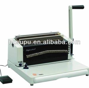 Simi- automático de heavy duty doble máquina obligatoria de alambre