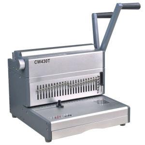 مصنع cw430t آلة سلك ملزمة