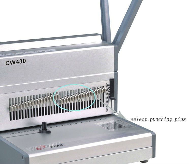 офиснаябумага удар и проволокой машина для 180sheetscw430