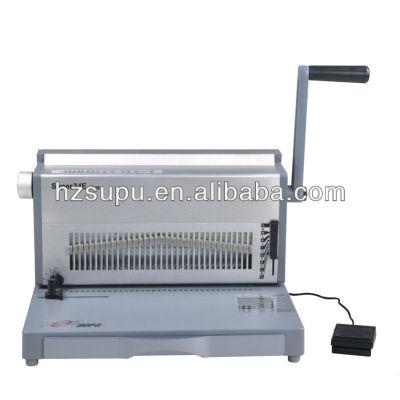 eléctrico alambre de aluminio de la máquina de encuadernación